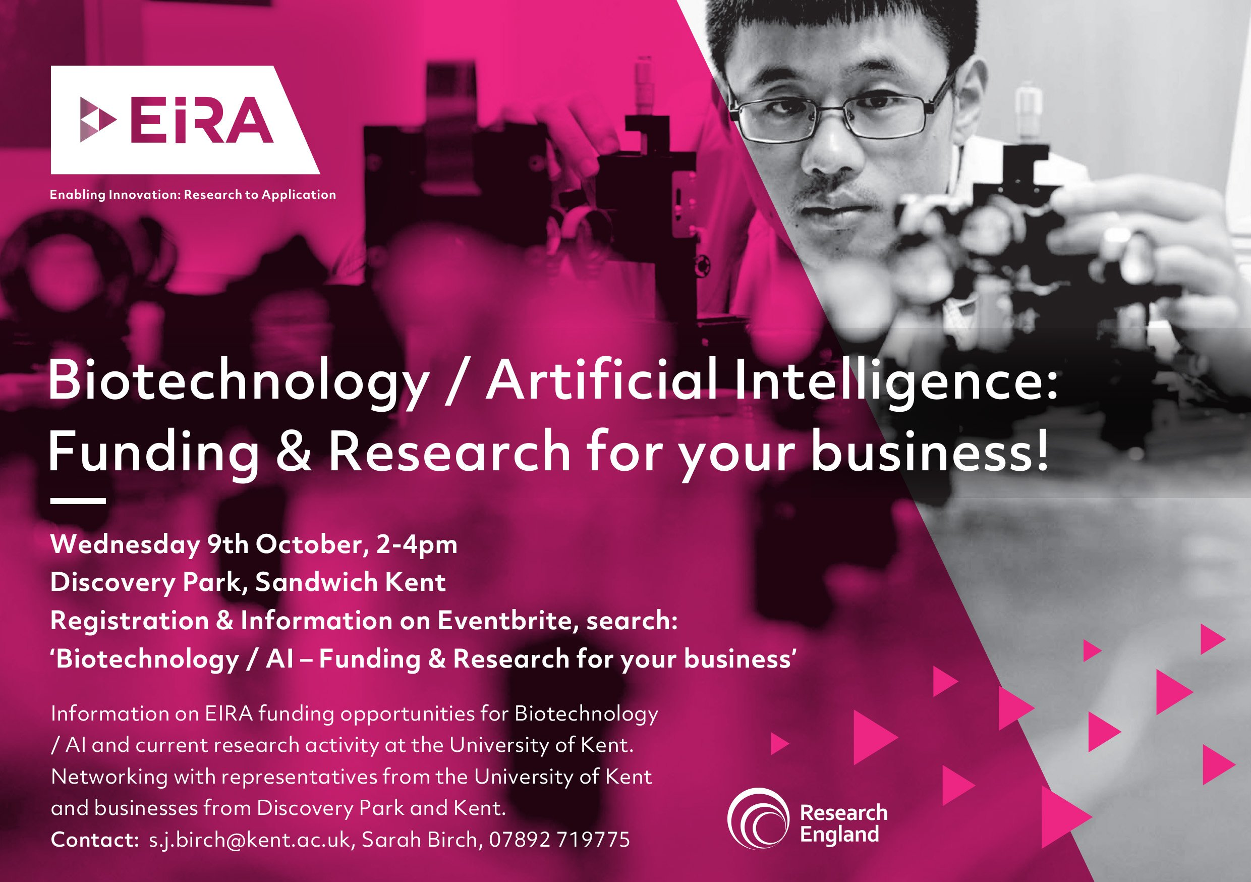 Biotech and AI - Funding and research for your business! - EIRA